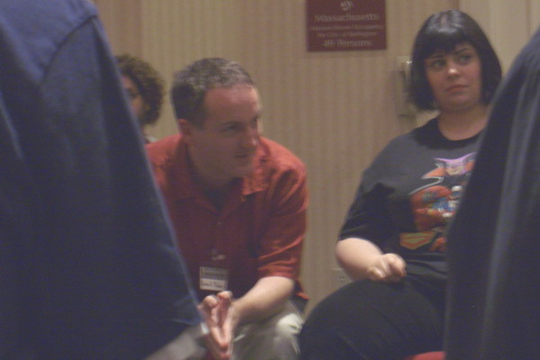 Readercon 2005, Devin Poore & Holly Black