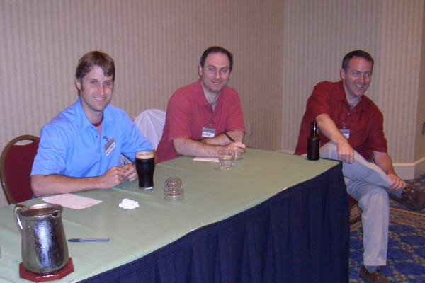 My first Readercon: Me, Paul M. Berger, and Devin Poore