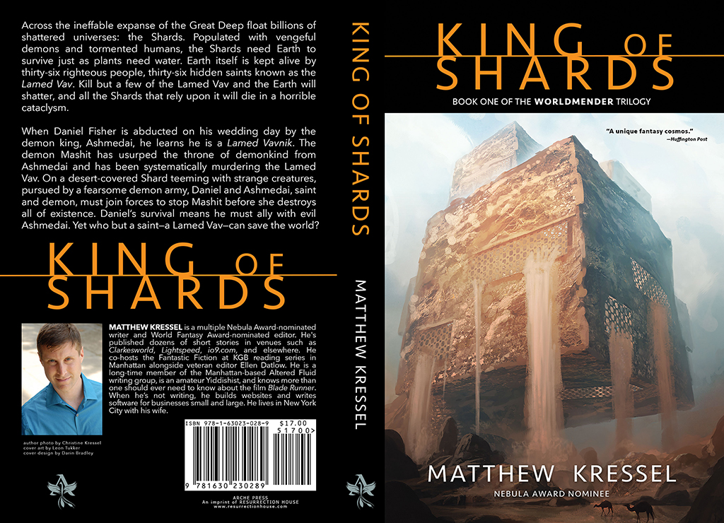 King of Shards Book Cover Jacket