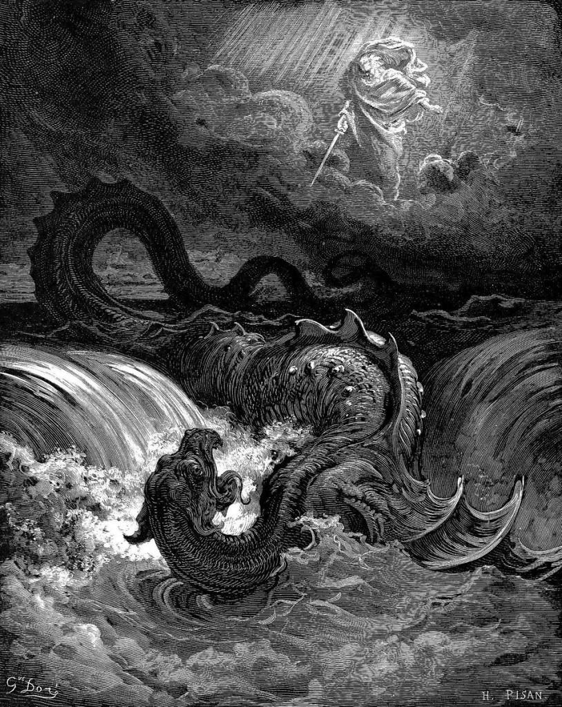 """Destruction of Leviathan"" by Gustave Doré"
