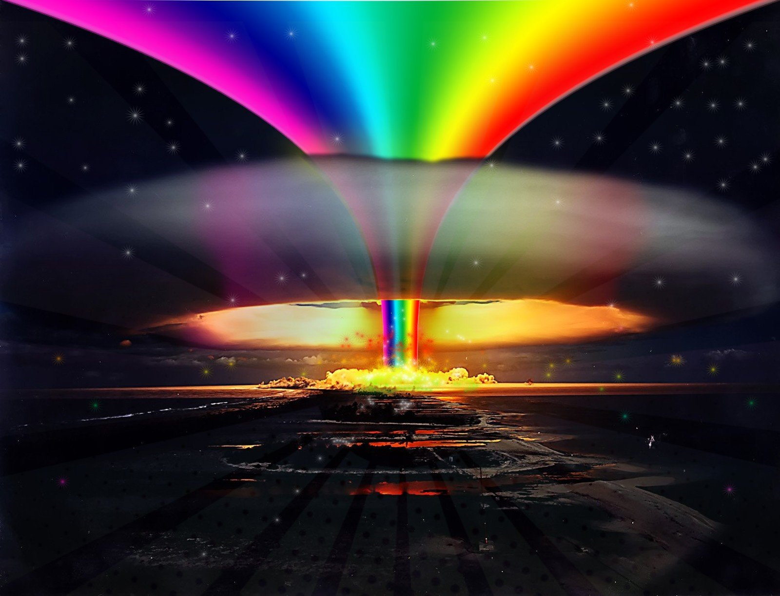 In Tor - Putting paint on a drum kit creates an explosive rainbow