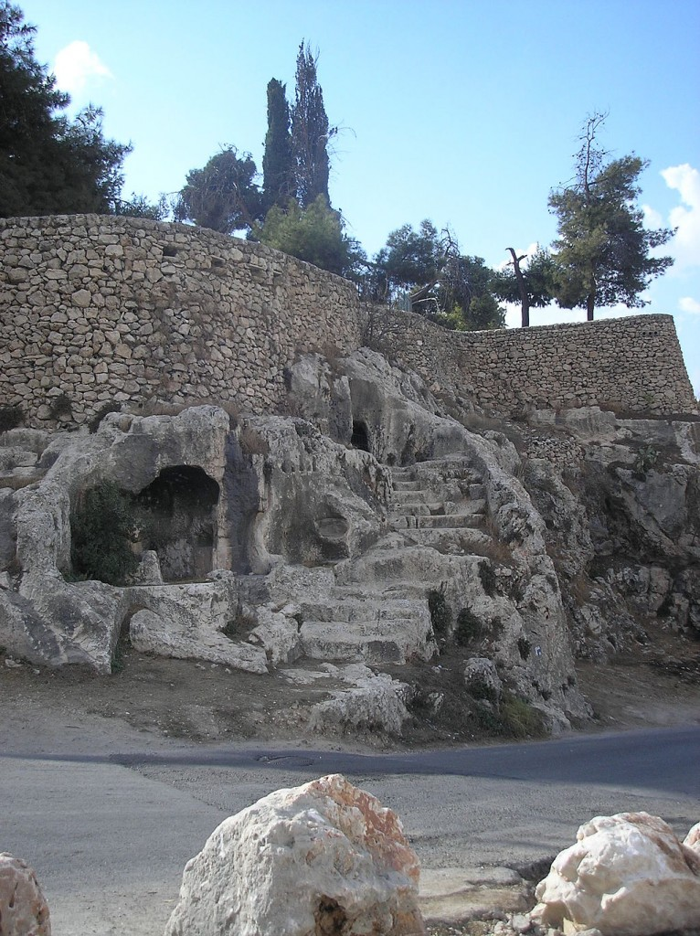 Tombs in the Valley of Hinnom